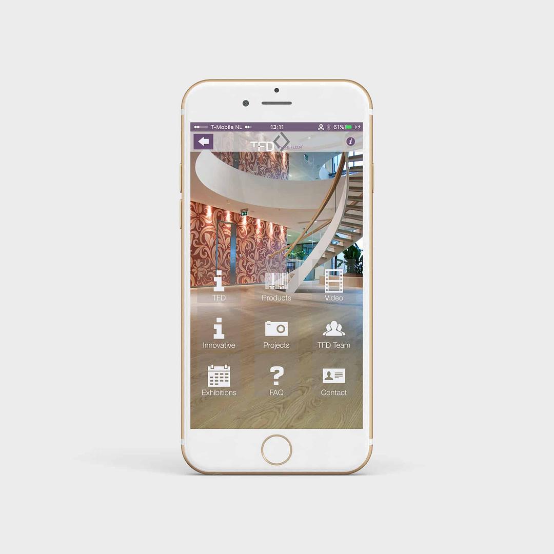TFD Floortile UI & UX design