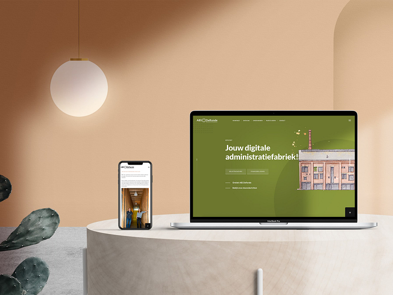 Website concept ABS DeRonde